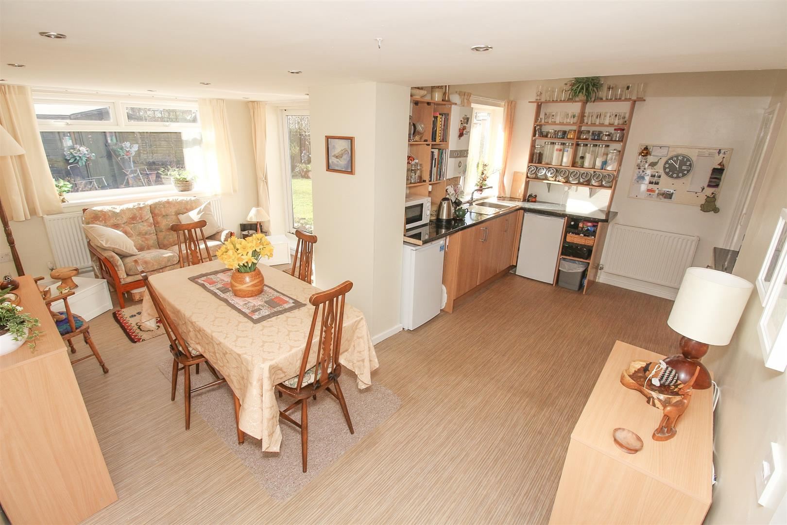 Kitchen Sitting Dining Area Thropton Crescent Newcastle Upon Tyne